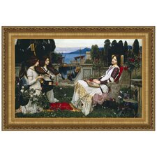 St. Cecilia, 1895 by John William Waterhouse Framed Painting Print