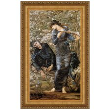 The Beguiling of Merlin, 1874 by Sir Edward Coley Burne-Jones Framed Painting Print