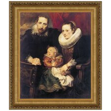 Wildens Family Portrait, 1621 by Sir Anthony van Dyck Framed Painting Print
