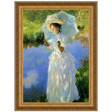 Morning Walk, 1888 by John Singer Sargent Framed Painting Print