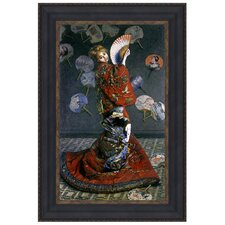 La Japonaise, 1876 by Claude Monet Framed Painting Print