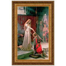 The Accolade, 1901 by Edmund Blair Leighton Framed Painting Print