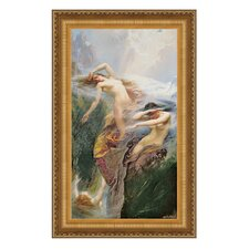 Clyties of the Mist, 1912 by Herbert James Draper Framed Painting Print