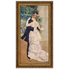 <strong>Design Toscano</strong> La Danse a la Ville Replica Painting Canvas Art