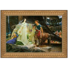 Tristan and Iseult, 1901 by Herbert James Draper Framed Painting Print