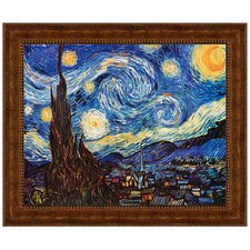 <strong>Design Toscano</strong> Starry Night, 1889 Replica Painting Canvas Art