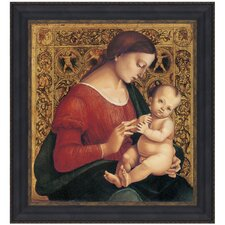 Madonna and Child, 1506 by Luca Signorelli Framed Painting Print