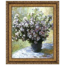 Vase of Flowers, 1882 by Claude Monet Framed Painting Print
