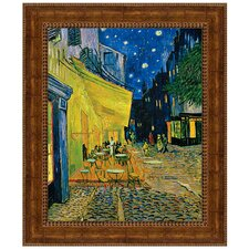 Cafe Terrace on the Place du Forum, 1888 by Vincent van Gogh Framed Painting Print