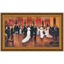 An Evening Soiree by Jean Beraud Framed Painting Print