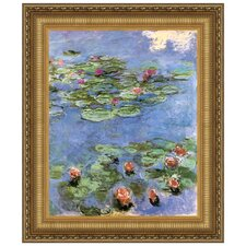 <strong>Design Toscano</strong> Water Lilies, 1917 Replica Painting Canvas Art