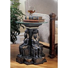 <strong>Design Toscano</strong> Ramses II Egyptian Sculptural End Table
