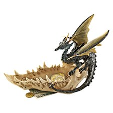 Jaw of the Dragon Offering Dish Figurine