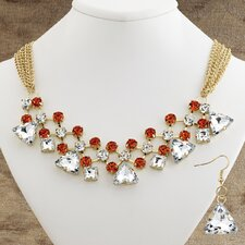 Milan Necklace and Earring