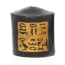 Egyptian Pillar Candle