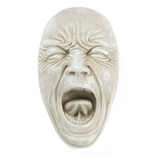 Screaming Simon Wall Sculpture