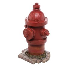 Open Box Price Fire Hydrant Statue Dogs Second Best Friend Statue