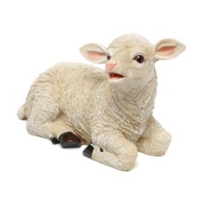 Yorkshire Sitting Lamb Statue