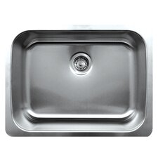 "Noah's 25"" x 19"" Single Bowl Undermount Kitchen Sink"