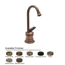 <strong>Whitehaus Collection</strong> Forever Hot One Handle Single Hole Drinking Water Faucet