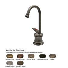 Forever Hot One Handle Single Hole Kitchen Faucet