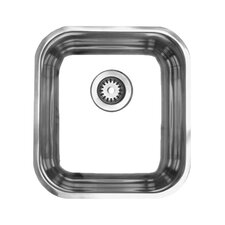 "Noah 16.88"" x 15.25"" Single Bowl Undermount Kitchen Sink"