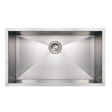 "<strong>Whitehaus Collection</strong> Noah 32"" x 19"" Single Bowl Undermount Kitchen Sink"