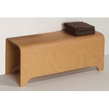 <strong>Whitehaus Collection</strong> Aeri Wood Stool