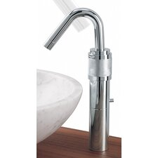 <strong>Whitehaus Collection</strong> Gesto Single Hole Elevated Bathroom Faucet Less Handles