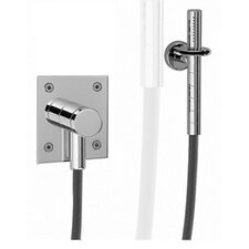 <strong>Whitehaus Collection</strong> Gyro Wall Mount Hand Shower Faucet Trim