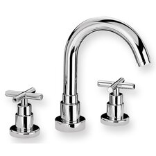 <strong>Whitehaus Collection</strong> Luxe Widespread Bathroom Faucet with Double Cross Handles