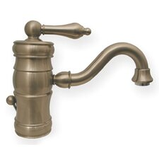 Vintage III Single Hole Elevated Bathroom Faucet with Single Handle