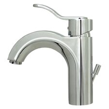 <strong>Whitehaus Collection</strong> Wavehaus Single Hole Bathroom Faucet with Single Handle