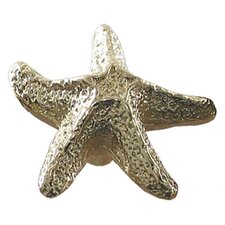Cabinetry Hardware Solid Brass Starfish Shaped Knob