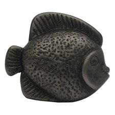 Cabinetry Hardware Solid Brass Fish Shaped Knob