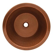 <strong>Whitehaus Collection</strong> Copperhaus Round Bathroom Sink