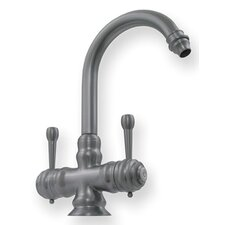 <strong>Whitehaus Collection</strong> Evolution Colonial Dual Handle Single Hole Kitchen Faucet