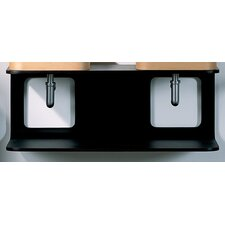 "Aeri 39.25"" Wall Mount Vanity Base"