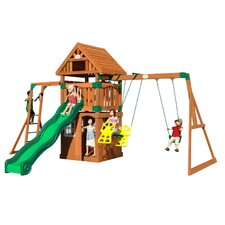 Castle Peak All Cedar Swing Set