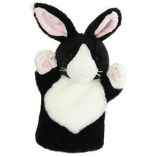 CarPets Rabbit Puppet in Black and White