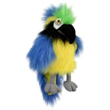 Baby Bird of Macaw Puppet in Blue and Gold