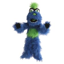 Monster Puppet in Blue