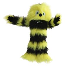 Monster Puppet in Yellow and Black