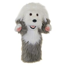 Long-Sleeved Old English Sheepdog Glove Puppet