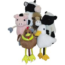 Farm Animals Finger Puppet 6 Piece Set