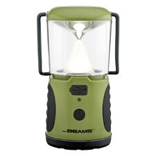 Mr. Beams MB470 UltraBright Weatherproof 260 Lumen LED Lantern with USB Port as a Backup Battery Charger, Green