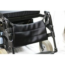 Gel Calf Support Panel Wheelchair Footrest with Positioning Strap