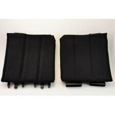 Gel Split Calf Wheelchair Support Panel with Positioning Strap