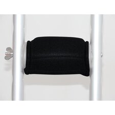 Gel Crutch Handle Cover with Velcro (Pack of 2)