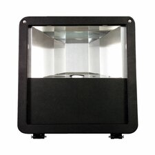100W HPS 120v Micro Flood Light with Yolk Mount in Bronze
